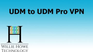 UniFi Dream Machine to UniFi Dream Machine Pro IPSec VPN - How-to