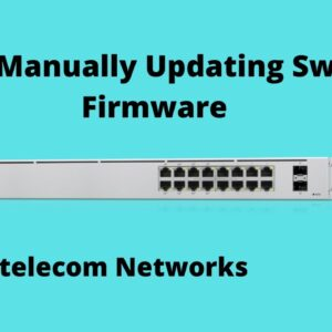 Unifi Manual Switch Firmware Update