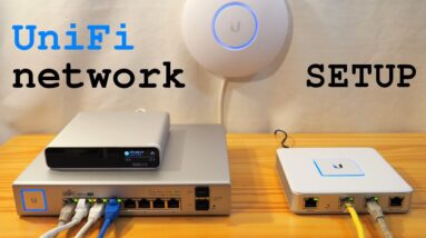 UniFi Network • Installation and configuration tutorial
