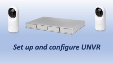Unifi NVR: How to set up and configure the NVR with Multiple Drives