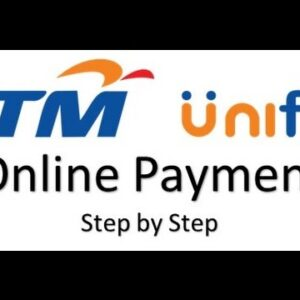 Unifi online payment via CIMB Clicks