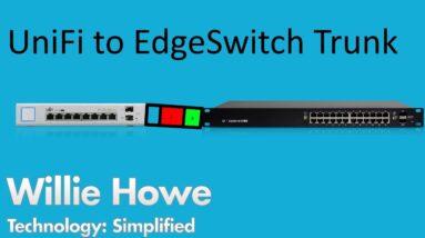 UniFi Switch to EdgeSwitch Trunk