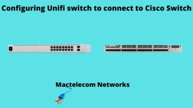 Unifi Switch Trunk configuration | Unifi vlans | unifi Networks