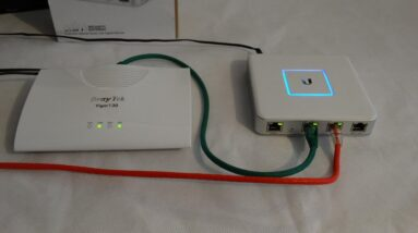 Unifi USG with BT Infinity (FTTC) Connection