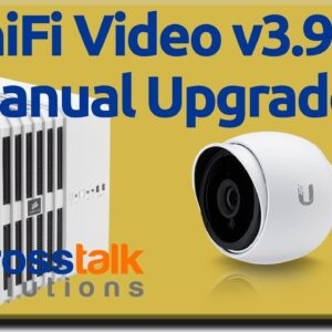 UniFi Video 3.9.7 Manual Upgrade