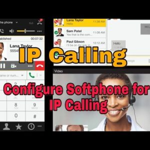 VoIP Calling- How to Configure a Soft phone XLITE, 3CX