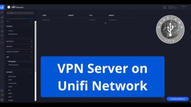 VPN server on Unifi Network - Step by step tutorial 2020