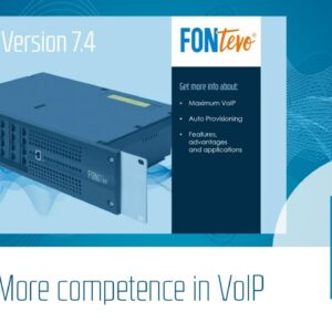Webinar: Firmware Version 7.4 More competence in VoIP