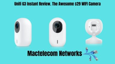 Unifi G3 Instant Review. The Awesome $29 WIFI Camera